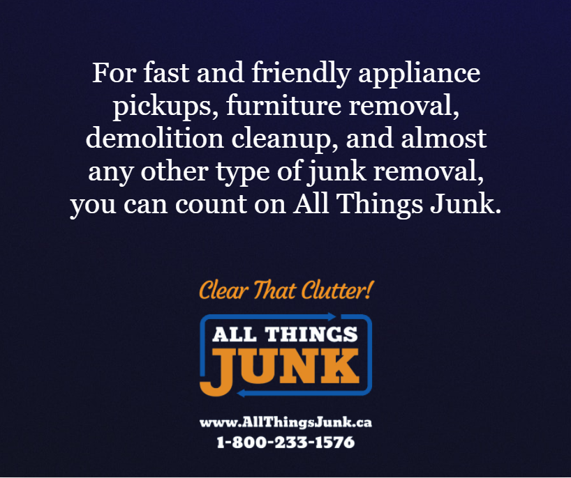 Appliance, Furniture, Junk Removal By All Things Junk