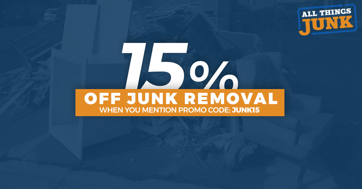 Get 15% Off Junk Removal in Windsor-Essex Until Mid-February 2018!
